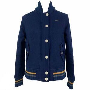 Tokyo Baseball Superdry Wool Blend  Varsity Coat